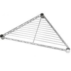 Estante triangular metal cromado