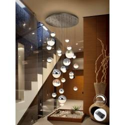 Lamp. 27l led sphere col diam. 80 dim