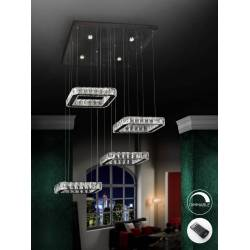 Lamp.led diva 4 cuad.dimable