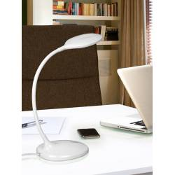 Sobremesa led scoop blanco