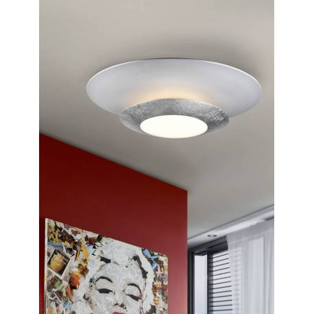 Plafon led hole plata diam. 42