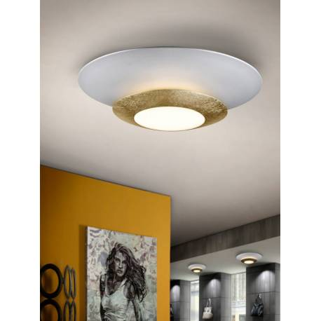 PLAFON LED HOLE ORO 42 DIAMETRO
